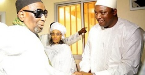 VISITE DANS LES FOYERS RELIGIEUX : Adama Barrow béni par la famille omarienne à Louga