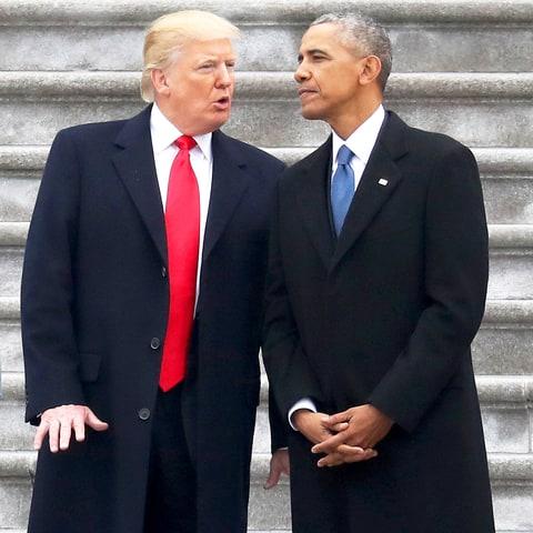"""ETATS-UNIS : Donald Trump accuse Obama de l'avoir placé """"sur écoute"""""""