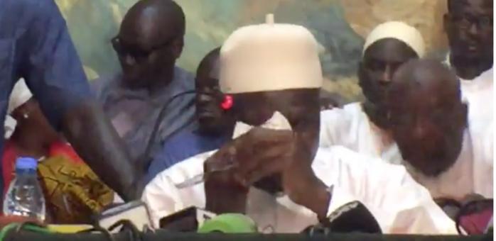 MAIRIE DE DAKAR : Khalifa Sall fond en larmes en pleine conférence de presse