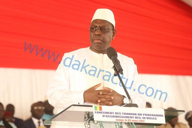 LOUGA : Le président Macky Sall attristé par le décès du frère du Khalife de la famille Omarienne
