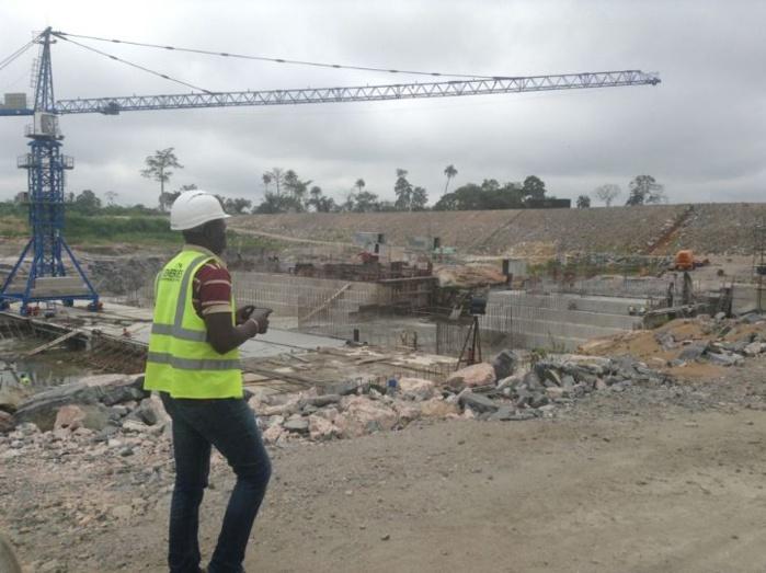 """Côte d'Ivoire : Le barrage """"chinois"""" de Soubré livré fin mars"""