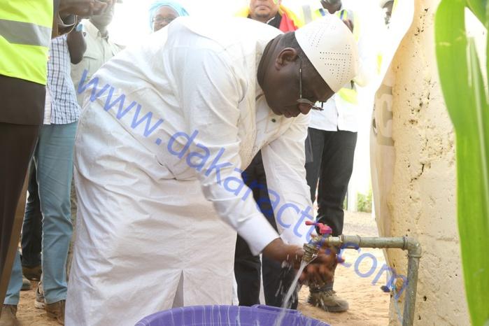 4e journée de la tournée économique de Macky Sall : Les images de la réception de la dorsale électrique du Dandé Mayo, de la remise d'équipements aux femmes de Sare Liou et de l'inauguration de l'unité de transformation de riz de Bokidiawé