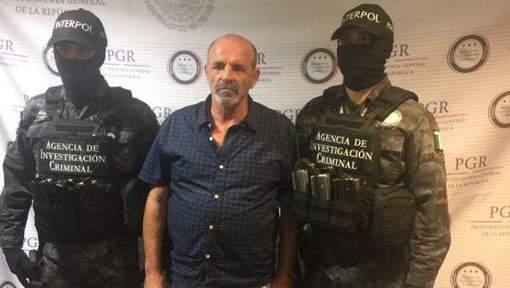 Un chef de la mafia italienne arrêté au Mexique après une cavale de 10 ans
