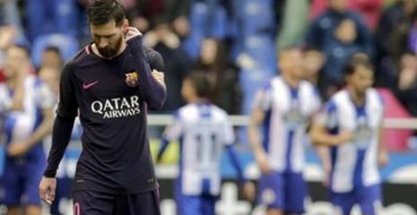 Après l'exploit face au PSG, le Barca chute à la Corogne (2-1)