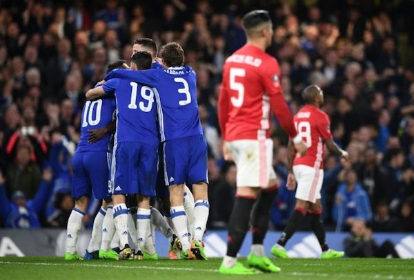 Coupe d'Angleterre : Chelsea élimine Manchester United
