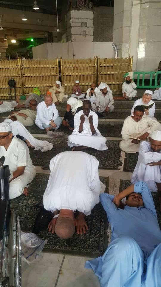 (Photos) Abdoulaye Wade, Omar Sarr, Decroix et Gackou à la Mecque
