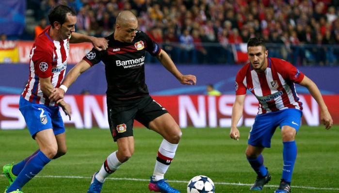 Ligue des champions: L'Atlético résiste au Bayer et se qualifie