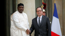 """ADAMA BARROW : """" 22 ans, c'est long. Yahya Jammeh a encore de l'influence et des amis en Gambie alors nous avons besoin des soldats Sénégalais pour stabiliser la situation (...) La Justice n'épargnera personne"""""""