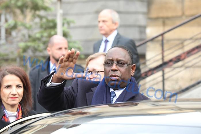 Le président Macky Sall hôte de la Suisse pour trois jours