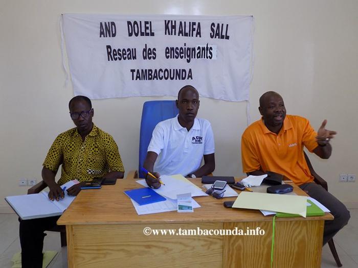 Urgent :  ADK de Tambacounda exige la libération de Khalifa et se dit prêt à supporter sa caution aux élections législatives de 2017