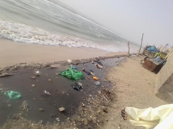SAINT-LOUIS - Les populations de Guet-Ndar et Santhiaba inquiètes par l'avancée de la mer