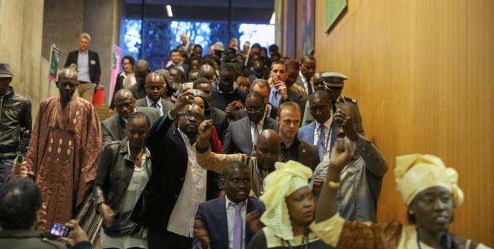 """LE PRÉSIDENT SALL À GENÈVE : """"  Aucun État ne peut se suffire à lui-même... L'Afrique a supporté le plus lourd fardeau de l'humanité... Ce que Khadafi a réussi à faire '"""