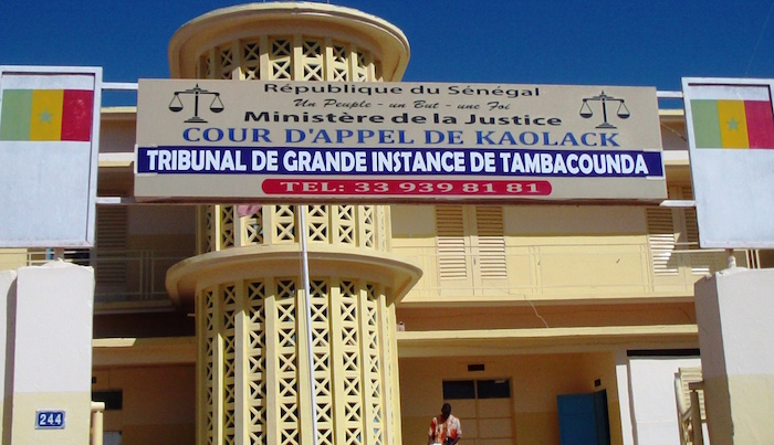 """TAMBA : Un quadragénaire condamné à sept ans de travaux forcés pour """"coup mortel"""""""