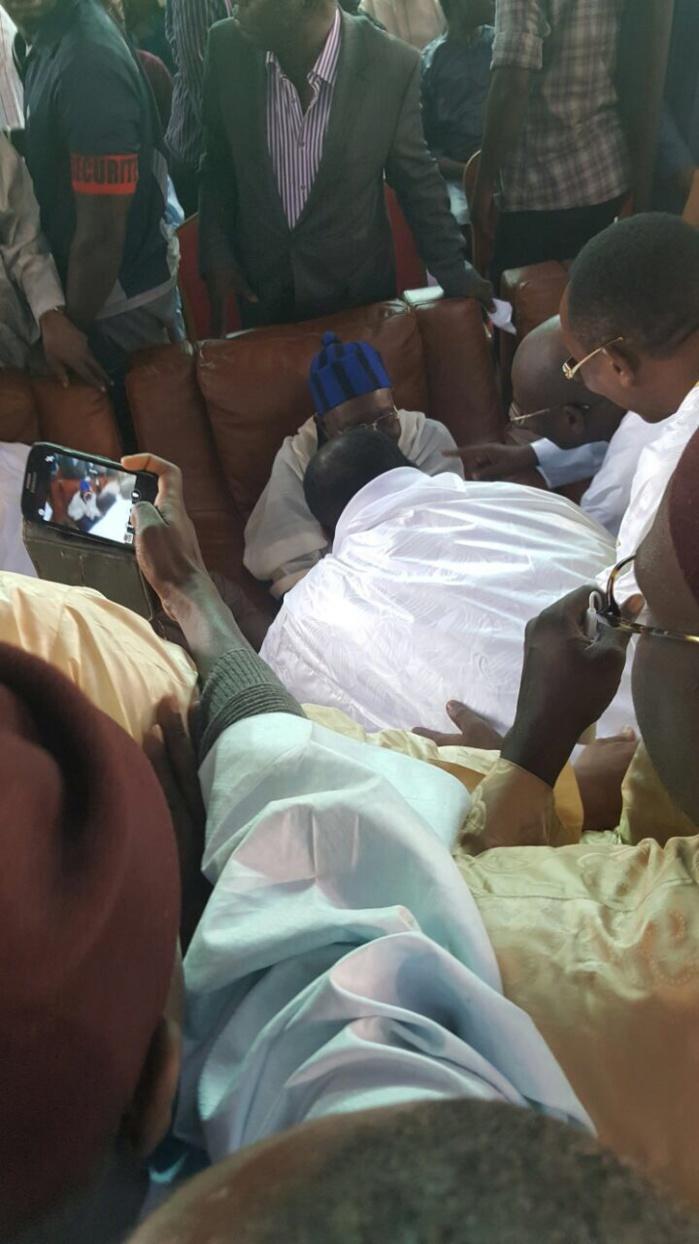 RAPPEL À DIEU DE AL MAKTOUM : Cheikh Béthio Thioune à Tivaouane pour présenter ses condoléances