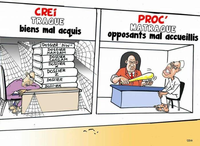Traque et matraque (La Tribune d'Odia)...