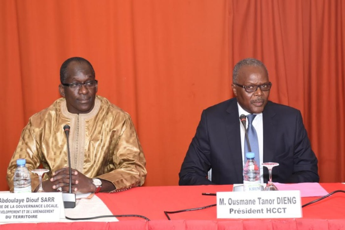 Abdoulaye Diouf Sarr devant le HCCT décline ses ambitions