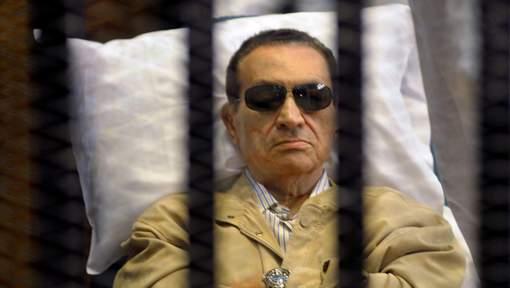L'ancien président égyptien Hosni Moubarak libéré