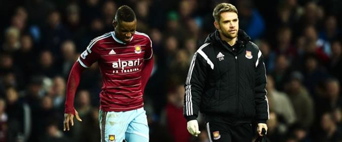 West Ham : Retour incertain de Diafra Sakho cette saison