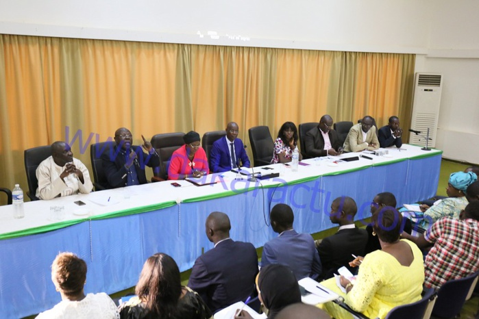 Les images du panel organisé par la Cojer nartionale pour évaluer le bilan du président Macky Sall