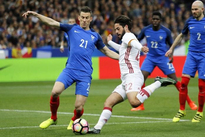 Match amical  : La France battu 2-0 par l'Espagne