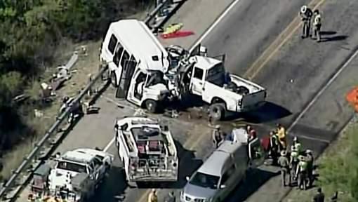 Un terrible accident fait au moins douze morts au Texas