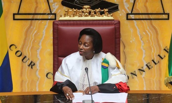 BLANCHIMENT EN BANDE ORGANISÉE : La présidente de la Cour constitutionnelle gabonaise Marie-Madeleine Mborantsuo dans le viseur de la France