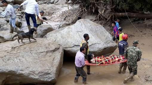 Près de 100 morts dans une coulée de boue en Colombie