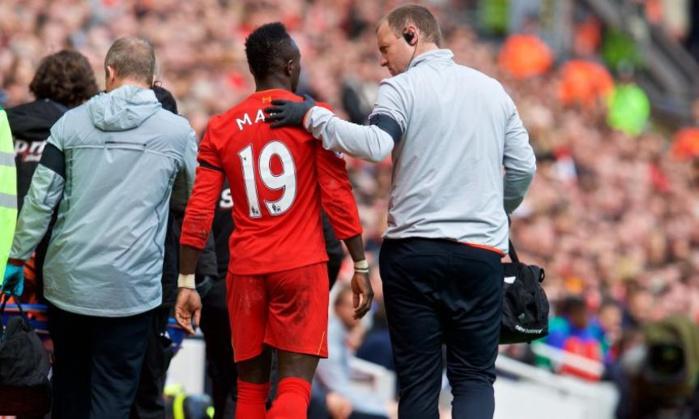 Liverpool : saison terminée pour Mané ?