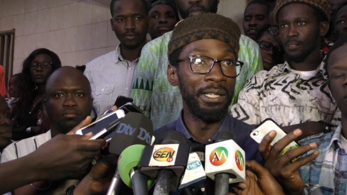 Fadel Barro sur la manif de « Y en marre » : « Nous ne tolérerons pas des provocations… Nous sommes au courant de tout »