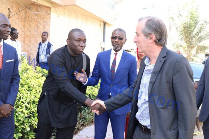 Les images de la visite de Son Excellence Christophe Bigot, Ambassadeur de France au Sénégal dans les locaux de Dakaractu
