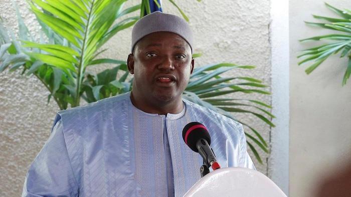 CONGO-BRAZZAVILLE : le président gambien Adama Barrow reçu par le président Sassou-Nguesso