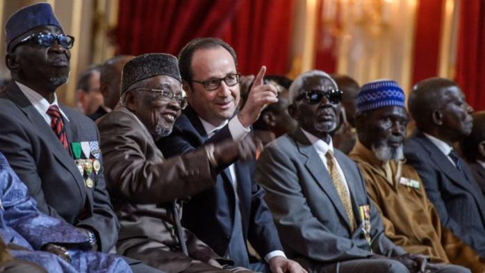 """François Hollande naturalise 28 tirailleurs sénégalais : """"Il était plus que temps"""""""