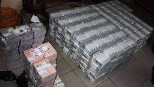 43 millions de dollars découverts dans un appartement au Nigéria