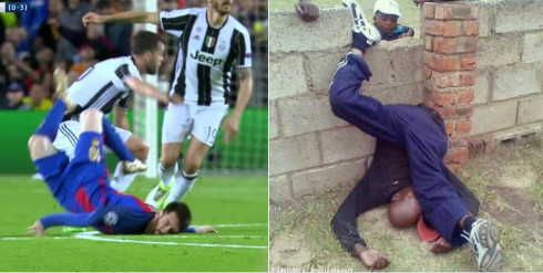 La chute de Lionel Messi a bien fait rire les internautes