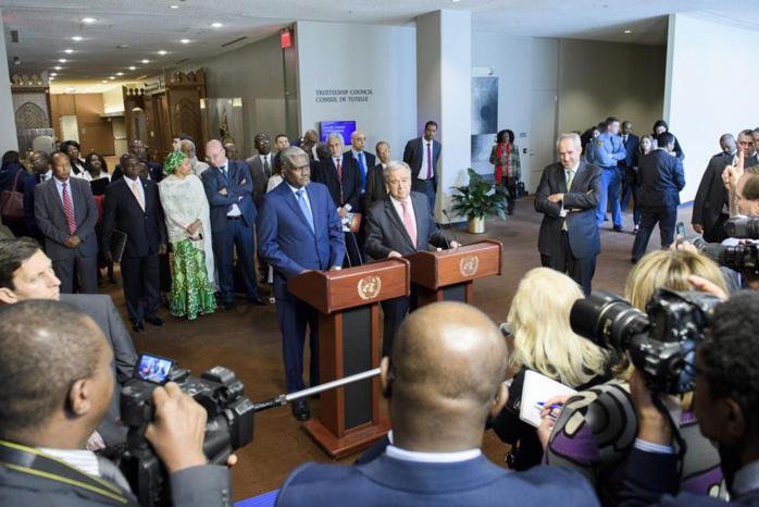 SÉCURITÉ : À New York, l'ONU et l'Union africaine renforcent leur collaboration