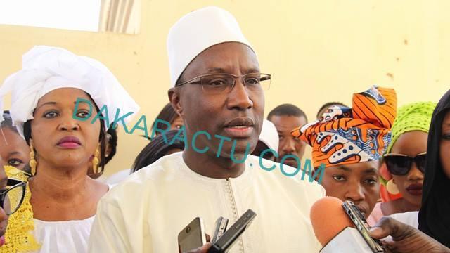 """Mamour Diallo, président du mouvement Dolly Macky, sur le choix de la locomotive de la liste départementale de Louga : """" Le plus important, c'est la victoire de l'Apr """""""