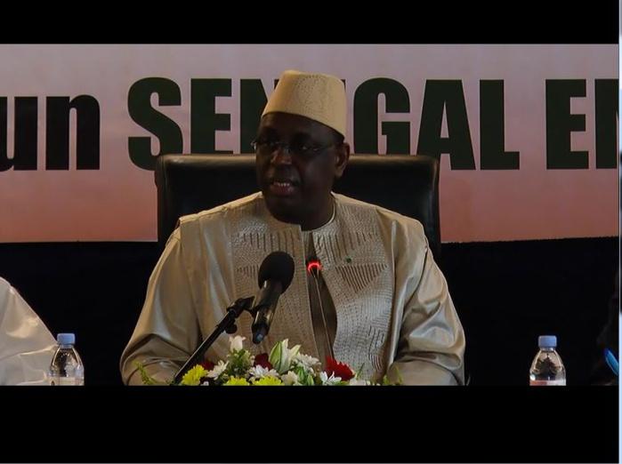 Macky Sall défend l'indépendance de la justice : « Nous avons la conscience tranquille...ni le Président, ni le garde des sceaux ne participent dans le processus de sanction des magistrats »