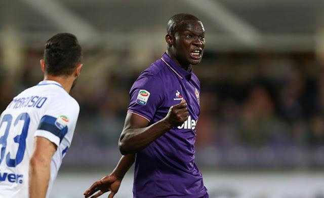 Serie A : La Fiorentina domine l'Inter 5-4, doublé de Babacar Khouma