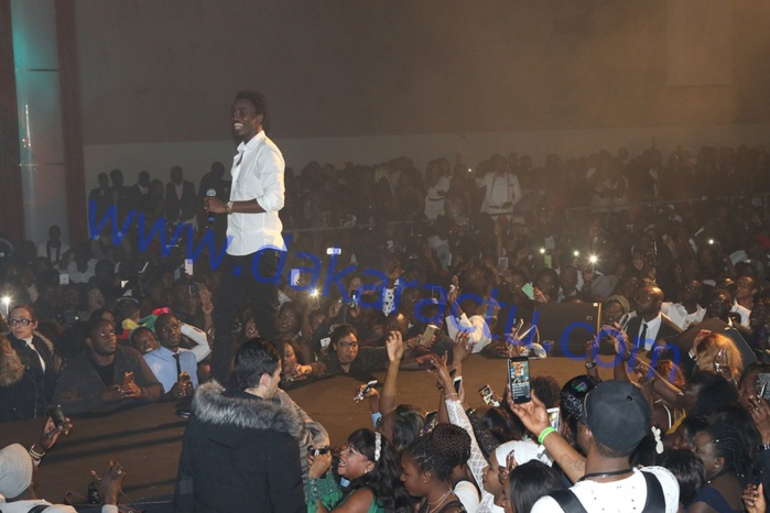 Soirée d'anniversaire à Paris  : Wally Ballago Seck enflamme le Dock Pullman ( IMAGES )