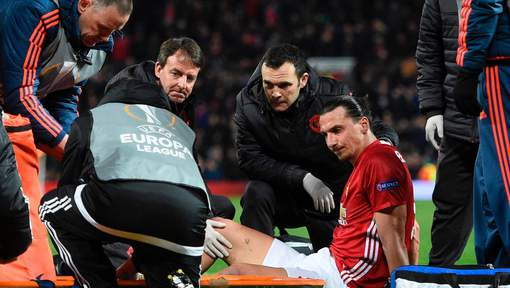 Manchester United: Zlatan Ibrahimovic sera opéré aux Etats-Unis