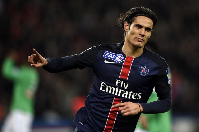 Cavani prolonge au Paris SG jusqu'en 2020