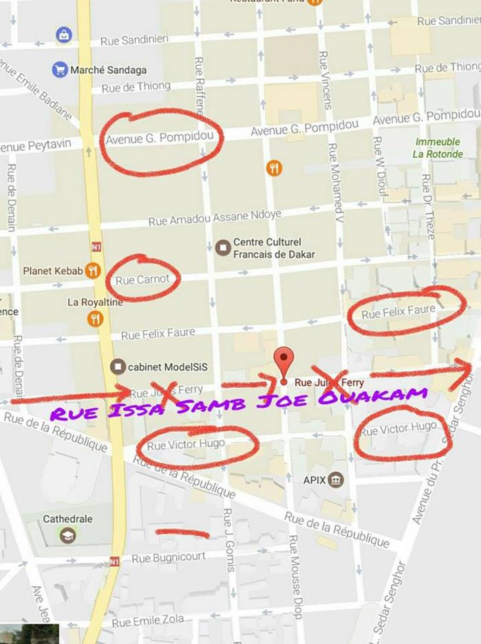 Un citoyen souhaite que la rue Jules Ferry soit rebaptisée rue Joe Ouakam