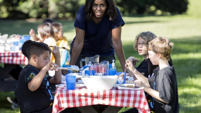 ETATS-UNIS : la fin des programmes salutaires de Michelle Obama