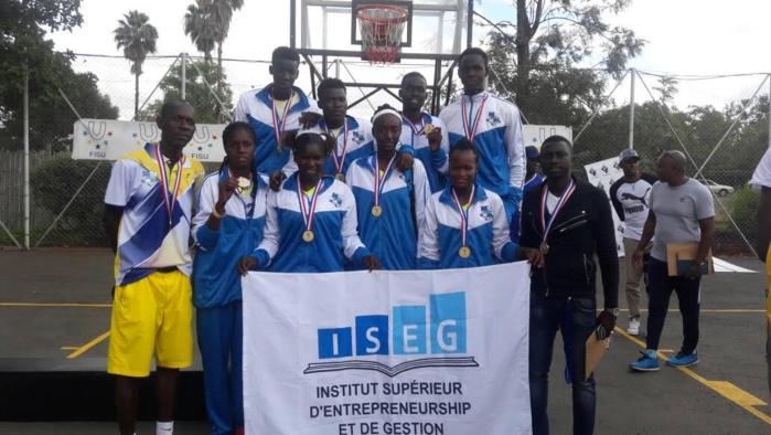ISEG DOUBLE CHAMPION D'AFRIQUE UNIVERSITAIRE DE BASKETBALL SE QUALIFIE A LA COUPE DU MONDE