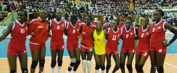 L'équipe nationale de volley féminine qualifiée au mondial