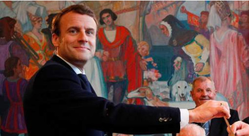Un dernier sondage place Macron en tête avec plus de 60%