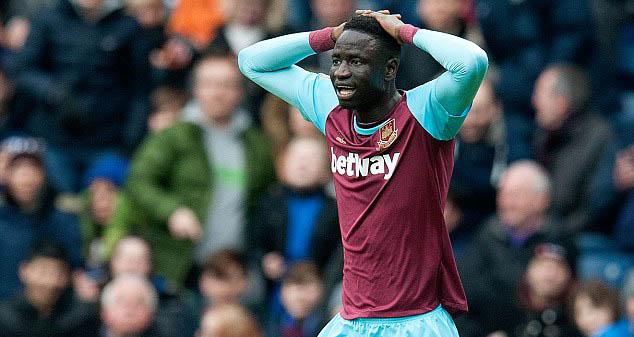 West Ham : Cheikhou Kouyaté forfait pour le reste de la saison