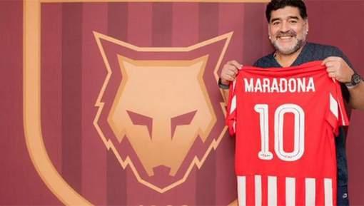 Maradona entraîneur de l'équipe émiratie d'Al Fujairah