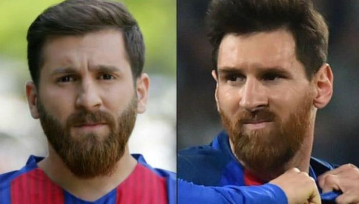 Quand le sosie de Messi finit au poste de police…