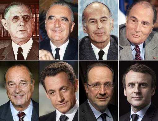 Que faisaient les précédents présidents français à 39 ans?